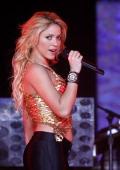 Shakira performs at Belgrade Arena on May 9 2011 in Belgrade Serbia