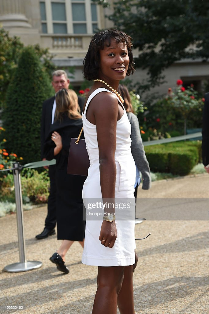 Celebrity Sighting At Paris Fashion Week, Womenswear SS 2015 : September 29th