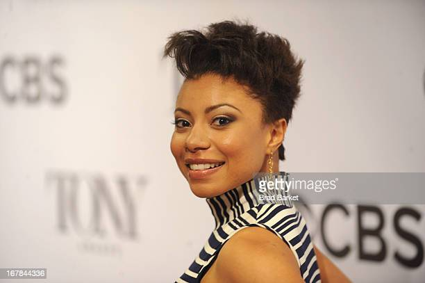 Shalita Grant attends the 2013 Tony Awards Meet The Nominees Press Reception on May 1 2013 in New York City