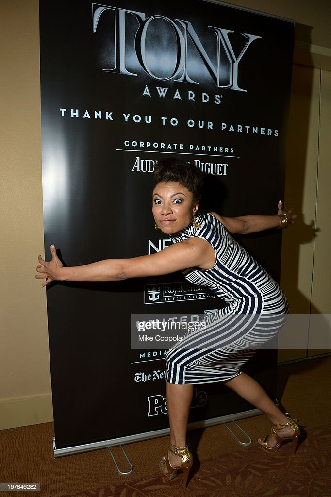 Shalita Grant attends the 2013 Tony Awards Meet The Nominees Press Reception on May 1, 2013 in New York City.