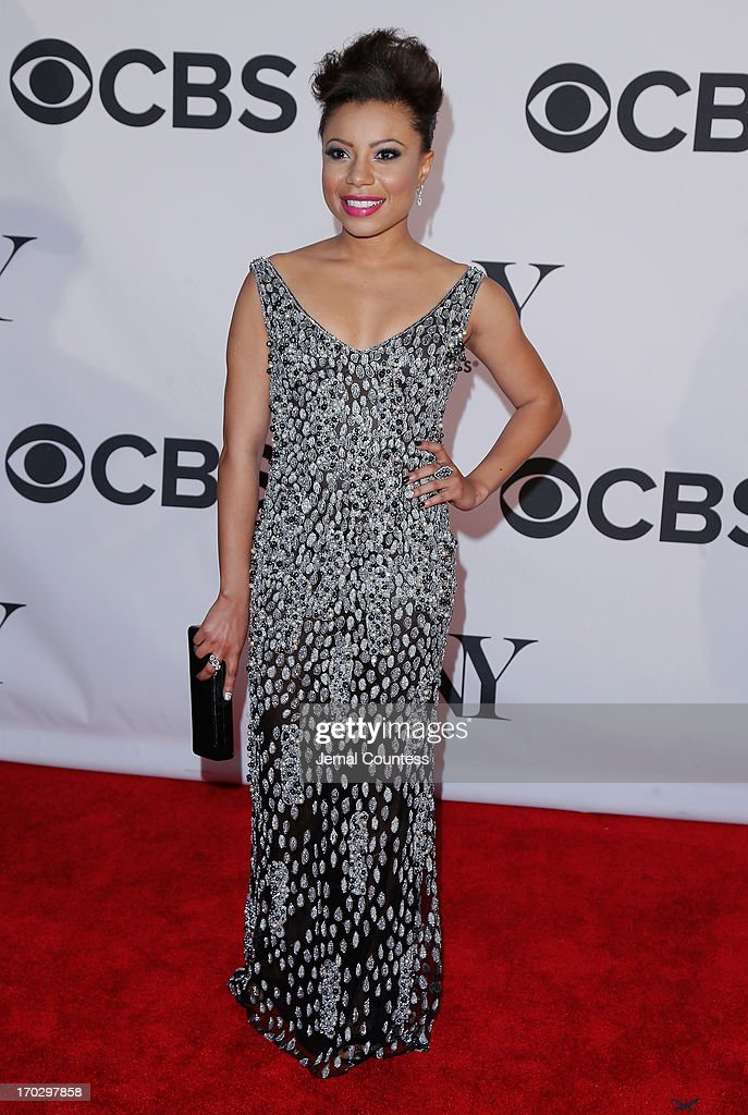 Shalita Grant attends The 67th Annual Tony Awards at Radio City Music Hall on June 9, 2013 in New York City.