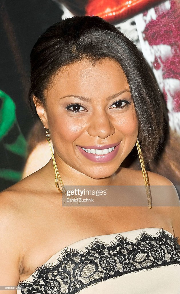 Shalita Grant attends the 'Vanya and Sonia and Masha and Spike,' press night at Mitzi E. Newhouse Theater on November 12, 2012 in New York City.