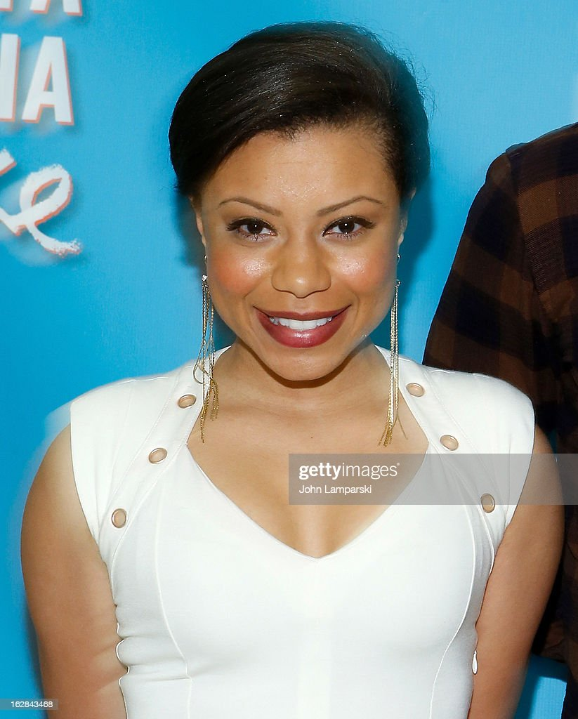 Shalita Grant attends 'Vanya And Sonia And Masha And Spike' Broadway Press Preview at The New 42nd Street Studios on February 28, 2013 in New York City.