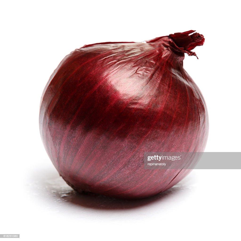 shallot onion isolated on white background : Foto de stock