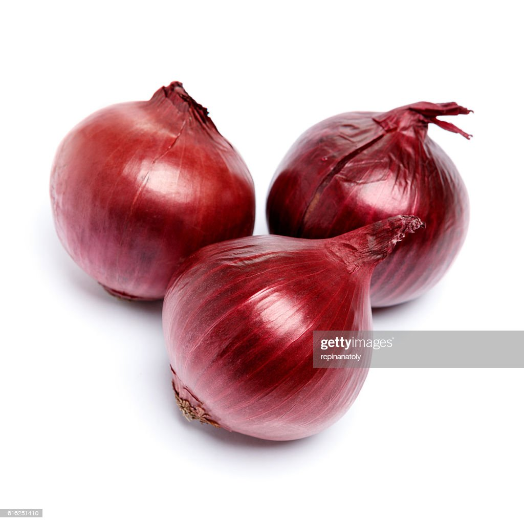 shallot onion isolated on white background : Stock-Foto