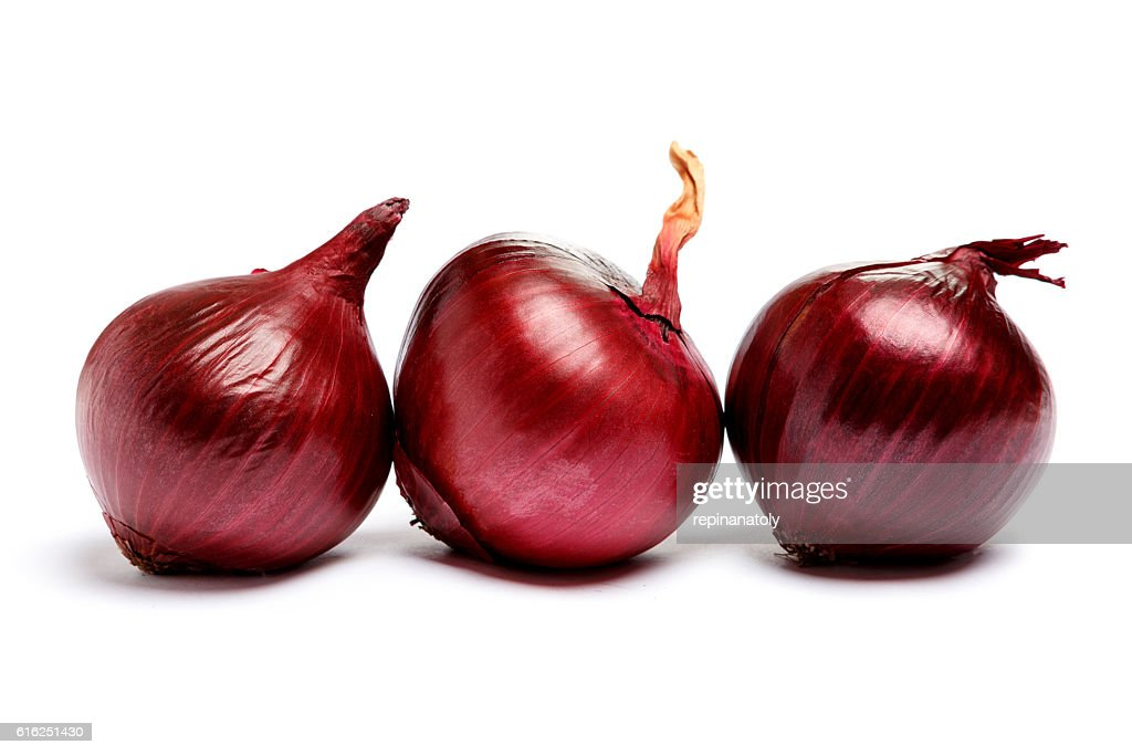 shallot onion isolated on white background : Stock Photo