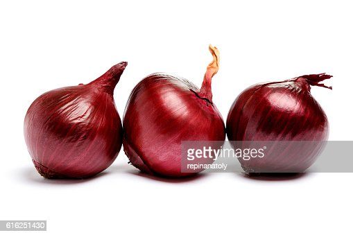 shallot onion isolated on white background : Foto de stock