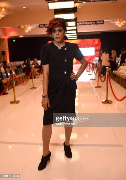 Sham Ibrahim at Los Angeles Fashion Week SS18 Art Hearts Fashion LAFW on October 5 2017 in Los Angeles California