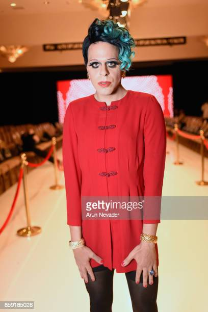 Sham Ibrahim at Los Angeles Fashion Week SS18 Art Hearts Fashion LAFW on October 8 2017 in Los Angeles California