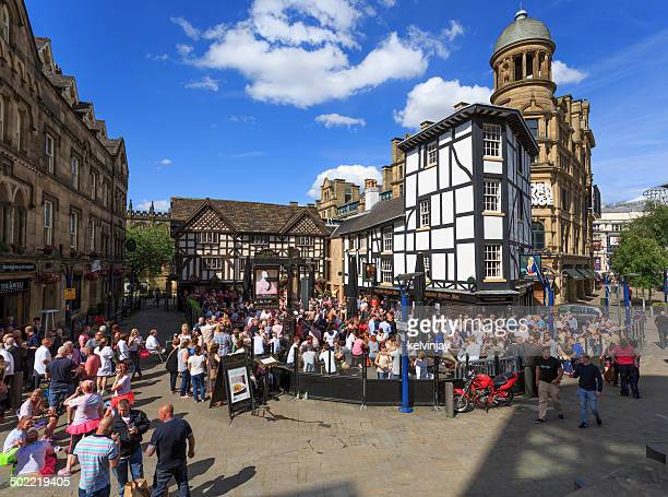 Shambles Square in Manchester