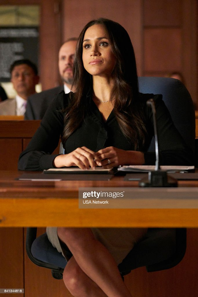 SUITS -- 'Shame' Episode 709 -- Pictured: Meghan Markle as Rachel Zane --