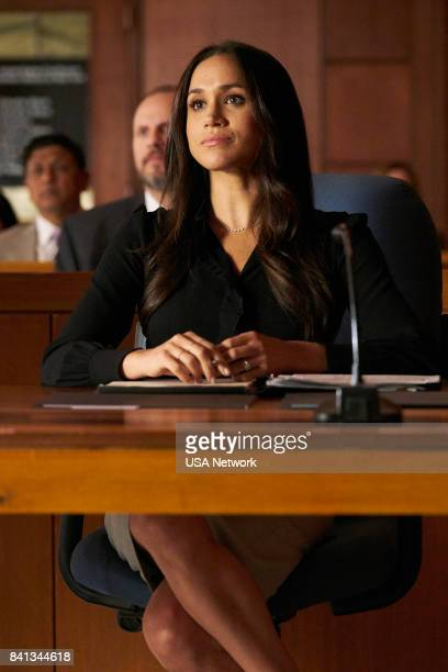 SUITS 'Shame' Episode 709 Pictured Meghan Markle as Rachel Zane