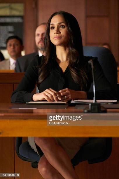 SUITS 'Shame' Episode 709 Pictured Meghan Markle as Rachel Zane