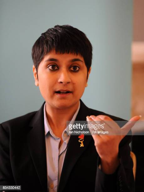 Shami Chakrabarti director of human rights organisation Liberty addresses a news conference in response to the second reading in the House of Commons...