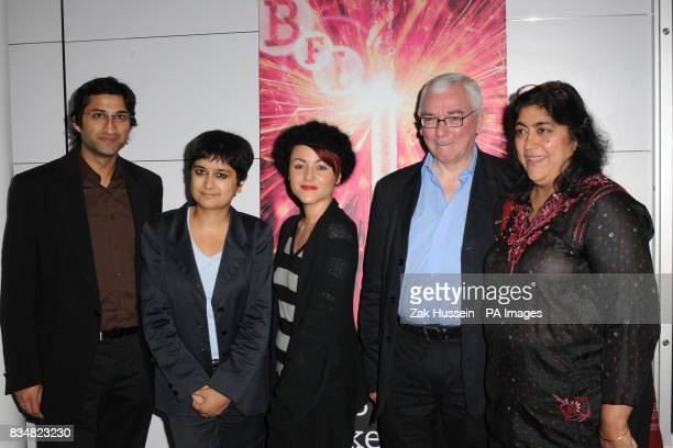 Shami Chakrabarti Jaime Winstone Terence Davies and Gurinder Chadha arrive for the BFI A Story In Pictures Party to mark the 75th anniversary of the...