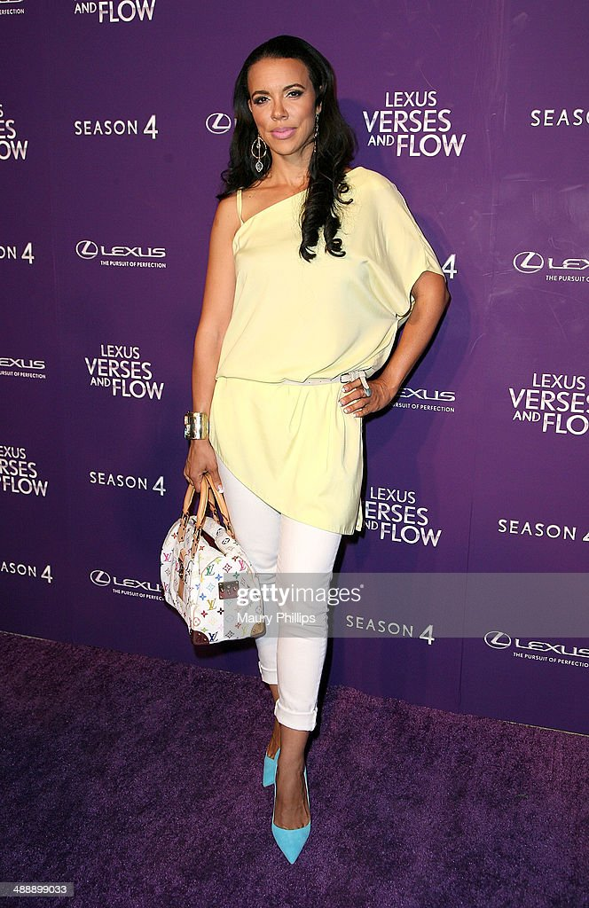 Shamicka Lawrence arrives at 'Verses And Flow' Season 4 taping presented by TV One at Siren Studios on May 8, 2014 in Hollywood, California.