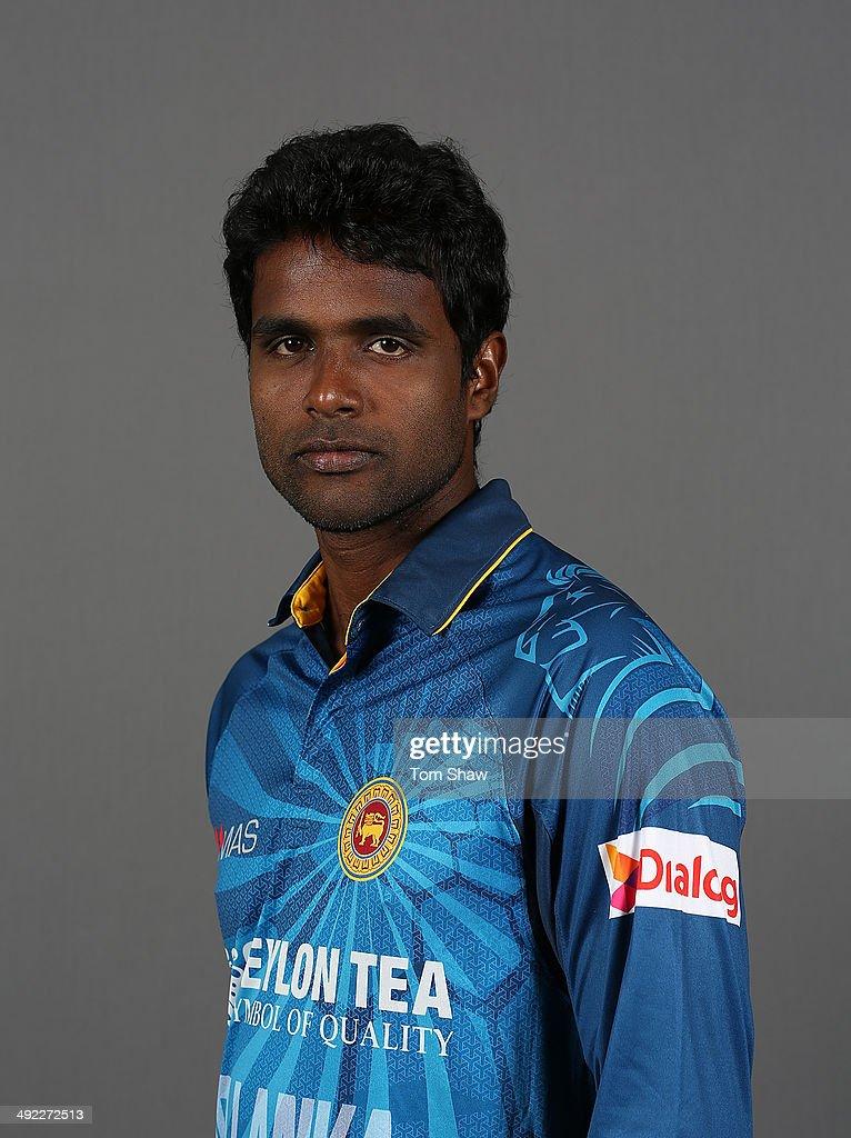 <a gi-track='captionPersonalityLinkClicked' href=/galleries/search?phrase=Shaminda+Eranga&family=editorial&specificpeople=8049726 ng-click='$event.stopPropagation()'>Shaminda Eranga</a> of Sri Lanka poses for a headshot during the Sri Lanka nets session at The Kia Oval on May 19, 2014 in London, England.