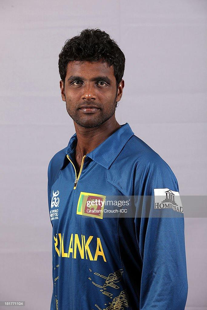 Shaminda Eranga of Sri Lanka poses on September 11, 2012 in Colombo, Sri Lanka.