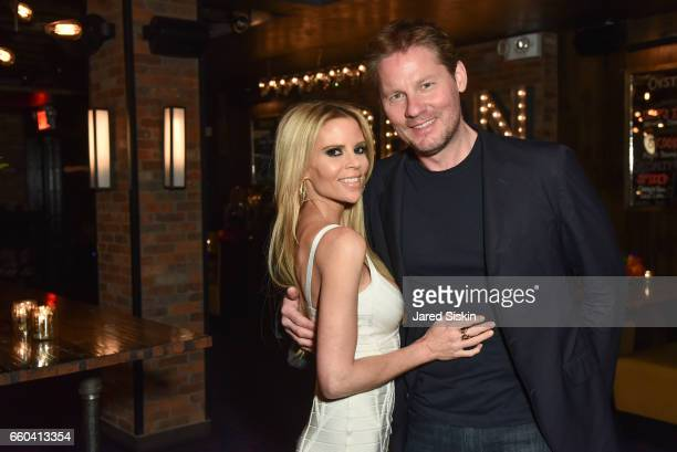 Shana Wall and Dave Zinczenko attend Paramount Pictures DreamWorks Pictures host the after party for 'Ghost in the Shell' at The Ribbon on March 29...