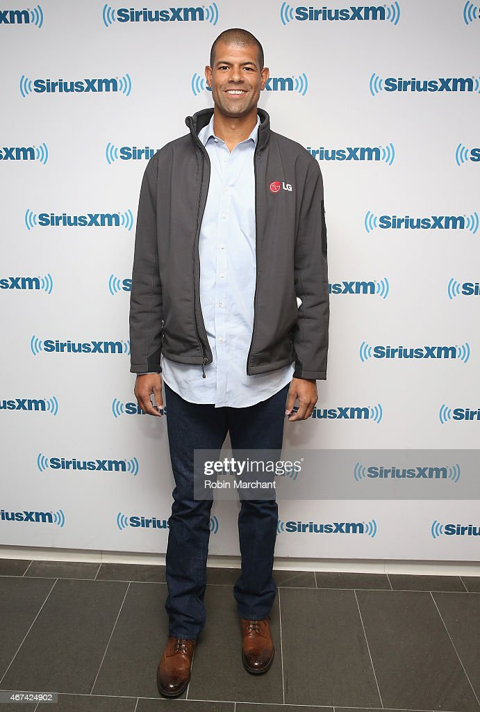 Shane Battier visits at SiriusXM Studios on March 24, 2015 in New York City.