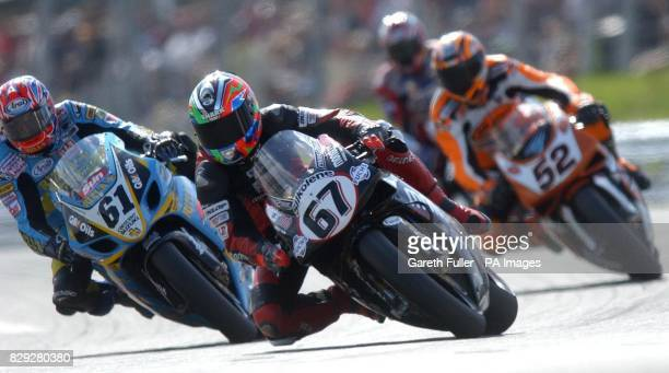Shane Byrne wins the second race of the day follwed by 61 John Reynolds and 52 James Toseland to make it a British podium finish in round 9 of the...