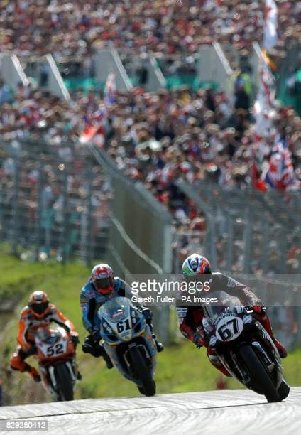 Shane Byrne wins the second race of the day follwed by John Reynolds and James Toseland to make it a British podium finish in round 9 of the SBK...