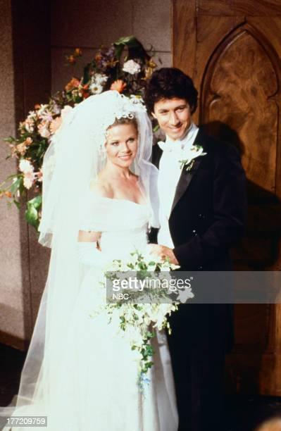 LIVES 'Shane Donovan Kimberly Brady Wedding' Pictured Patsy Pease as Kimberly Brady Donovan Charles Shaughnessy as Shane Donovan