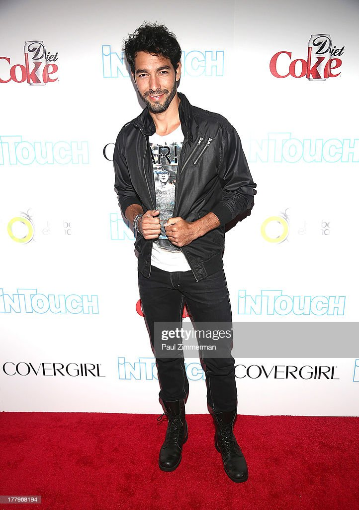 Shane Duffy attends In Touch Weekly's 2013 Icons & Idols event at FINALE Nightclub on August 25, 2013 in New York City.