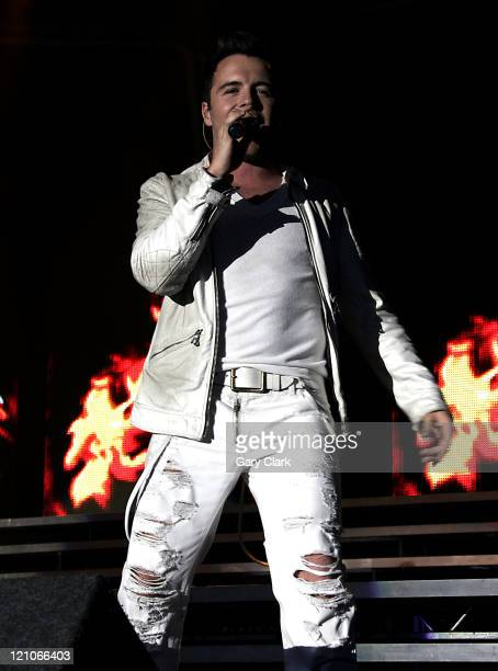 Shane Filan of Westlife during Westlife in Concert at Audley End House in Essex London July 30 2006 at Audley End House in Essex Great Britain
