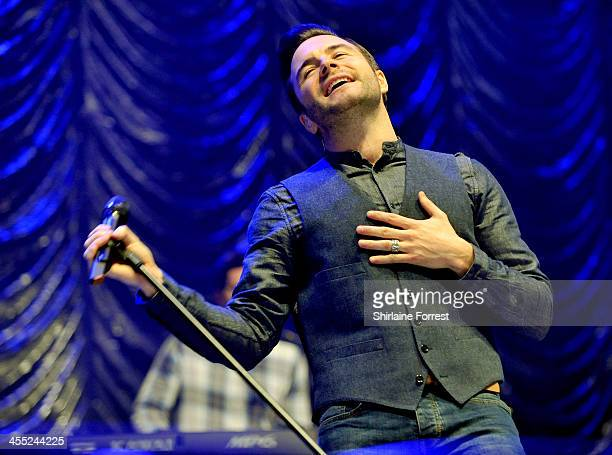 Shane Filan performs at Radio City Live at Echo Arena on December 11 2013 in Liverpool England