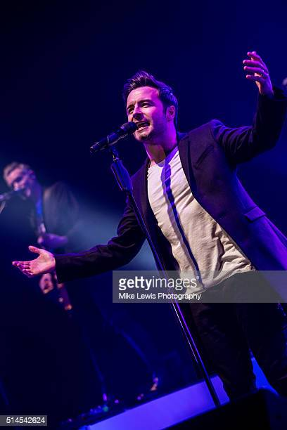 Shane Filan performs at St David's Hall on March 9 2016 in Cardiff Wales