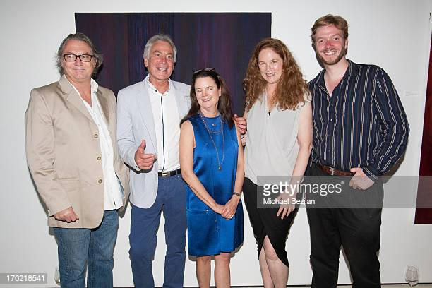 Shane Guffogg Michel Bocart Lee Bowers Wendy Waugh and Christian Breed attends Gallerie Sparta Exclusive Opening Night Event at Gallerie Sparta on...