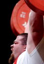 Shane Hamman lifts 2275 Kg during the Titan Games February 15 2003 at the Event Center at San Jose State University in San Jose California