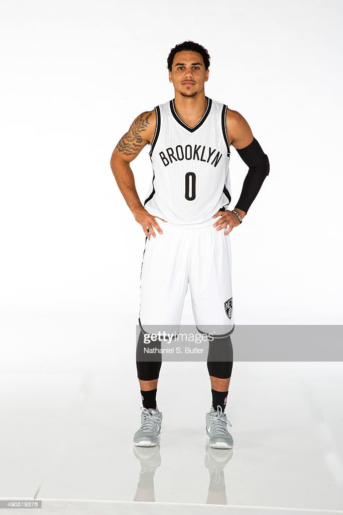 Shane Larkin of the Brooklyn Nets poses for a photo during Media Day at the Brooklyn Nets Practice Facility NOTE TO USER User expressly acknowledges...