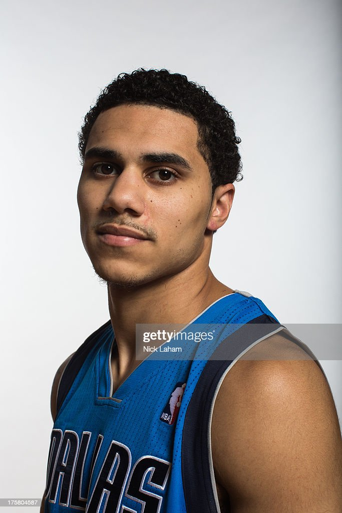 Shane Larkin #3 of the Dallas Mavericks poses for a portrait during the 2013 NBA rookie photo shoot at the MSG Training Center on August 6, 2013 in Greenburgh, New York.