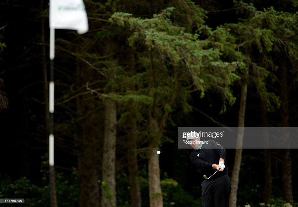 Shane Lowry of Ireland during the second round of the Irish Open at Carton House Golf Club on June 28, 2013 in Maynooth, Ireland.