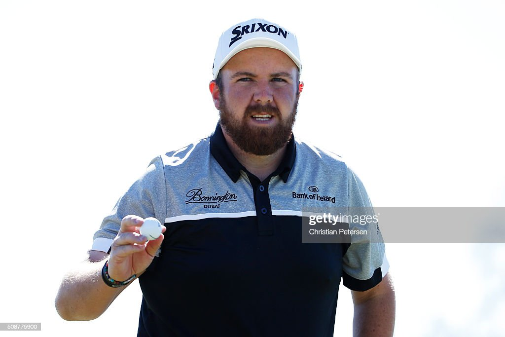<a gi-track='captionPersonalityLinkClicked' href=/galleries/search?phrase=Shane+Lowry+-+Golfer&family=editorial&specificpeople=12866010 ng-click='$event.stopPropagation()'>Shane Lowry</a> of Ireland reacts to a putt on the seventh hole during the third round of the Waste Management Phoenix Open at TPC Scottsdale on February 6, 2016 in Scottsdale, Arizona.