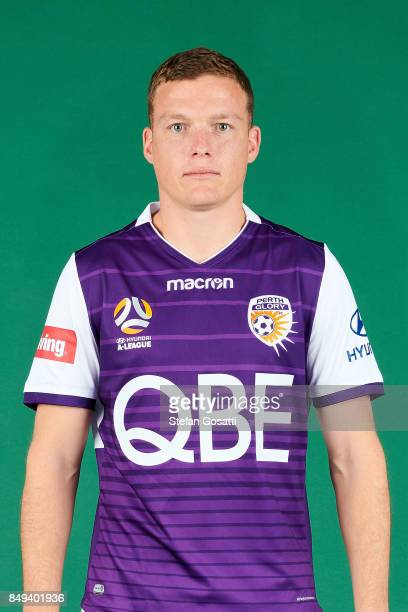 Shane Lowry poses during the Perth Glory 2017/18 ALeague season headshots session on September 15 2017 in Perth Australia
