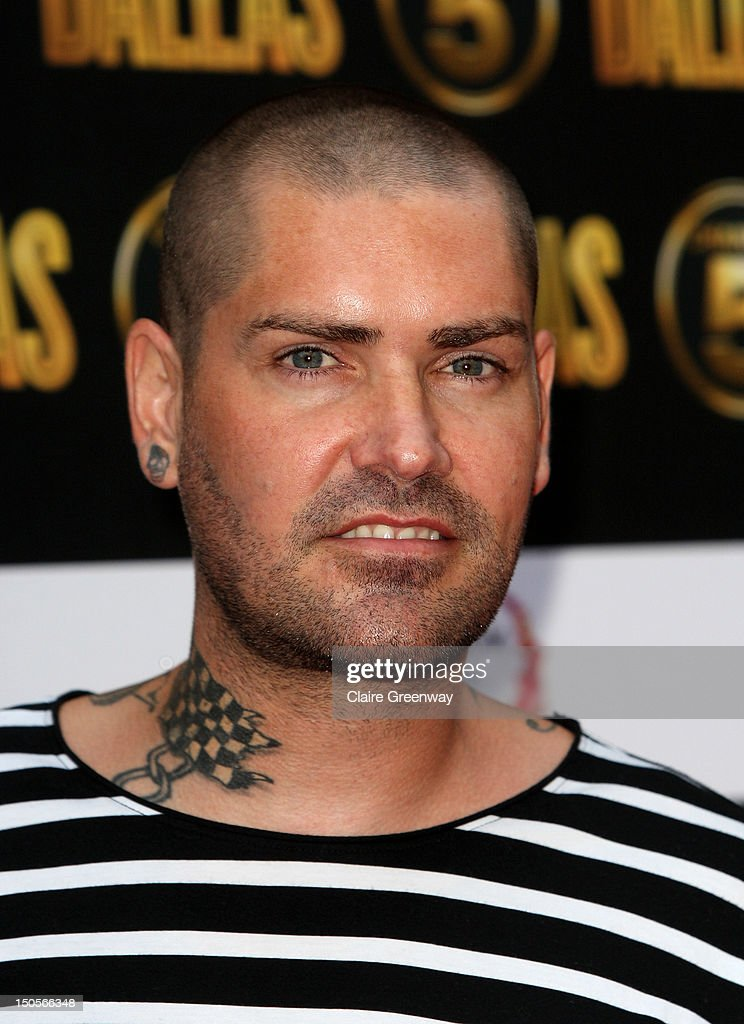 Shane Lynch arrives at the launch party for the new Channel 5 television series of 'Dallas' at Old Billingsgate on August 21, 2012 in London, England.