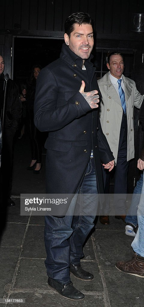 Shane Lynch attends the Celebrity Big Brother 2012 reunion party at Sugar Hut on February 3, 2012 in London, England.