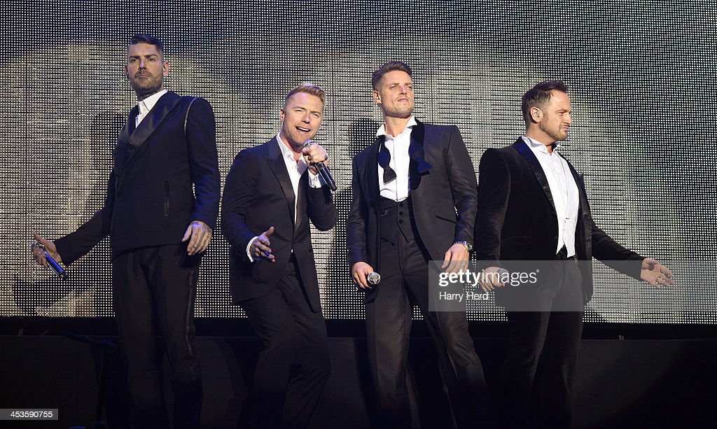 Boyzone Perform At The BIC