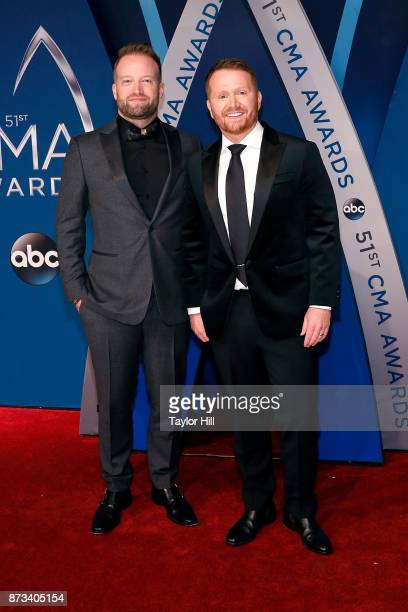 Shane McAnally attends the 51st annual CMA Awards at the Bridgestone Arena on November 8 2017 in Nashville Tennessee