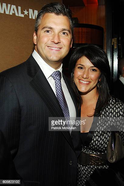 Shane McMahon and Marissa McMahon attend Bob and Harvey Weinstein honor Lee Scott of WALMART with a special performance by THE EAGLES at The Rainbow...