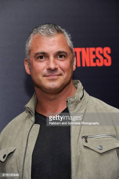 Shane McMahon attends a screening of Marvel Studios' 'Guardians Of The Galaxy Vol 2' hosted by The Cinema Society at the Whitby Hotel on May 3 2017...