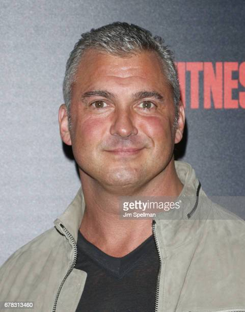 Shane McMahon attends the screening of Marvel Studios' 'Guardians Of The Galaxy Vol 2' hosted by The Cinema Society at the Whitby Hotel on May 3 2017...