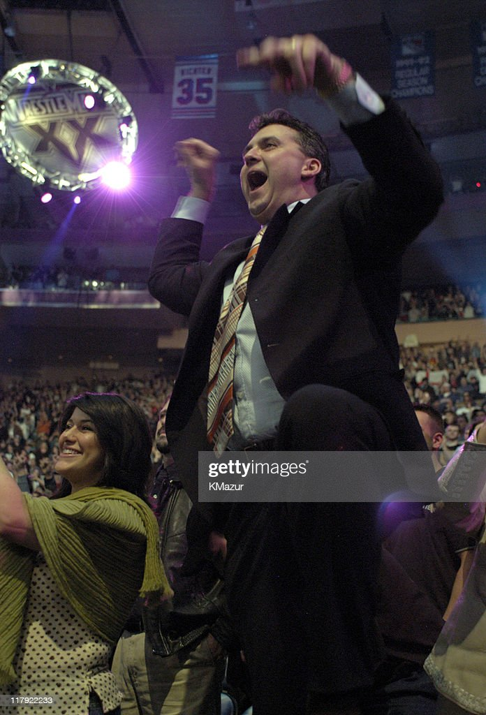 Shane McMahon during Wrestle Mania XX at Madison Square Garden in New York City, New York, United States.