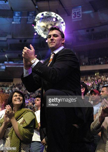 Shane McMahon during Wrestle Mania XX at Madison Square Garden in New York City New York United States