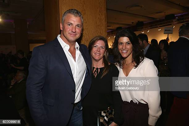 Shane McMahon Elizabeth Fearon Pepperman and Marissa McMahon attend Children's Museum of the Arts' 2016 Art Auction Cocktail Party at Dream Downtown...