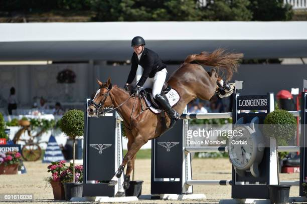 Shane of Ireland riding MAIN ROAD during the Piazza di Siena Bank Intesa Sanpaolo in the Villa Borghese on May 27 2017 in Rome Italy