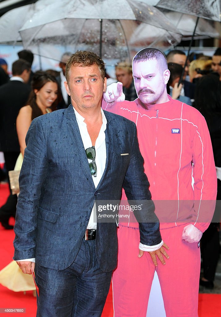 Shane Ritchie attends the UK Premiere of 'The Hooligan Factory' at Odeon West End on June 9, 2014 in London, England.